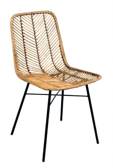 Casares Honey Rattan Dining Chair - Special Order
